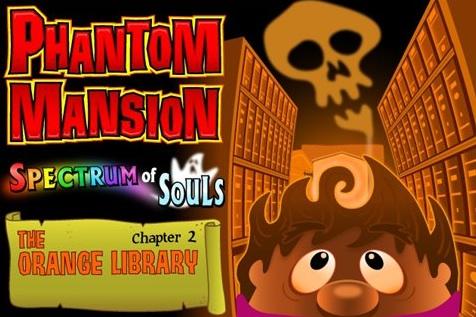 Oooh   Scary!!! PHANTOM MANSION: THE ORANGE LIBRARY Hits App