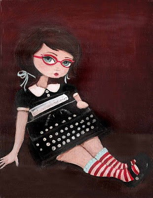 Etsy-typewriter-girl