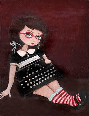 Etsy-typewriter-girl