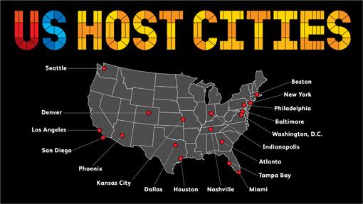 Final 18 Cities Selected In US Bid For FIFA World Cup GeekWeek