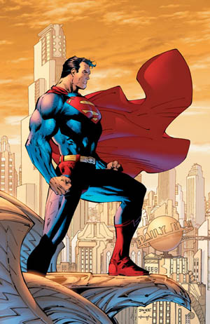 Superman-overlooking-metropolis