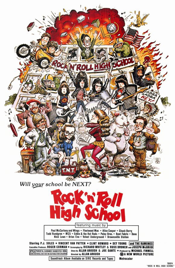 Rock And Roll Will Never Die  ROCK  N  ROLL HIGH SCHOOL and THE ... 5c6e753dbd3