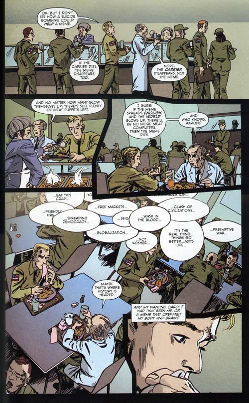 Aaron and Ahmed Vertigo DC Comics 2011