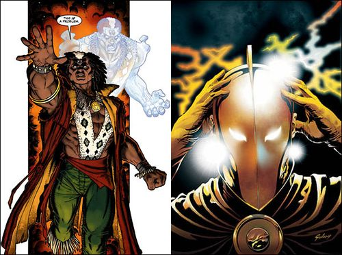 Brother Voodoo vs. Dr. Fate