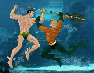 Aquaman vs. Namor