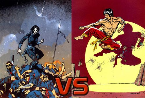Lady Shiva vs. Shang-Chi