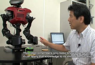 Learning-thinking-acting-robot