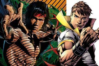 Shang Chi, Master of Kung Fu, vs Val Armorr, the Karate Kid