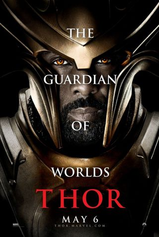 Idris Elba as Heimdall