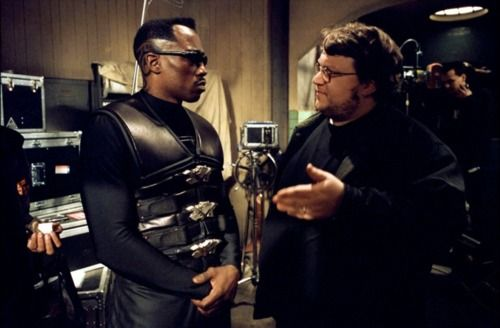 Blade 2 with Wesley Snipes and Guillermo del Toro