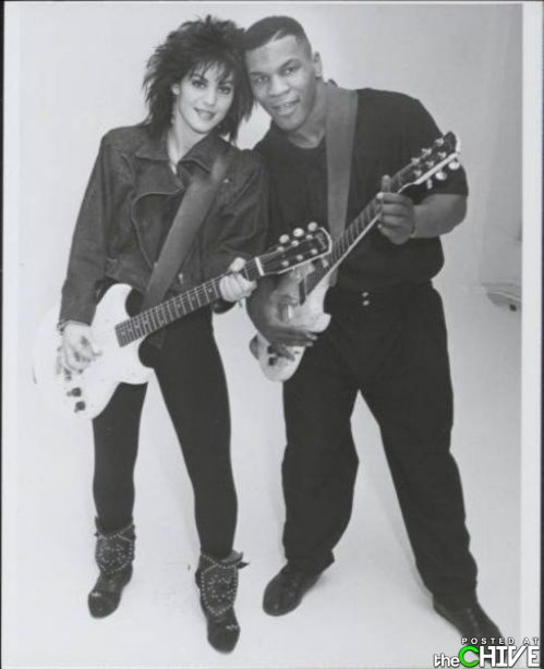 Mike Tyson and Joan Jett