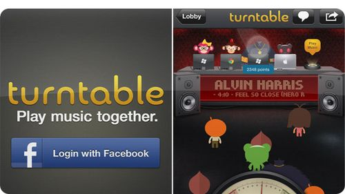 Turntable.fm app for iOS