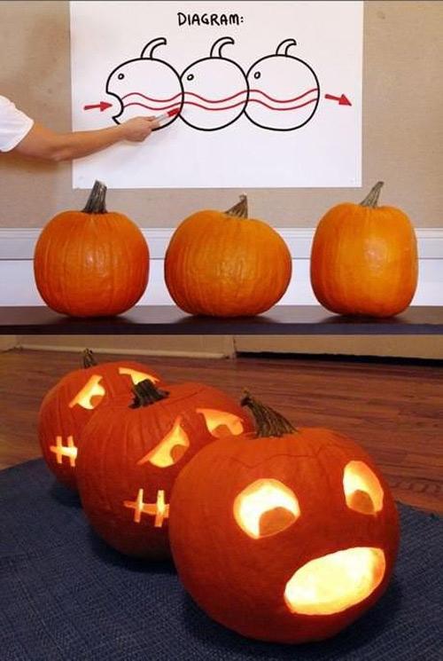 Human-centipede-pumpkin-carving