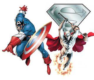 Captain America vs. Steel