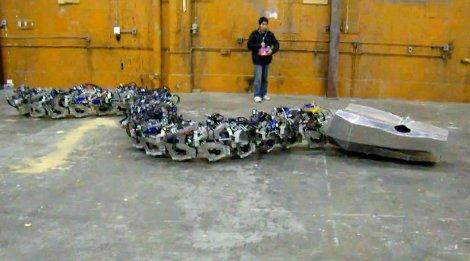robot snake