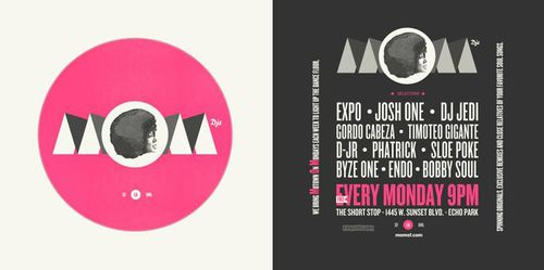 DJ Jedi at Motown on Mondays LA
