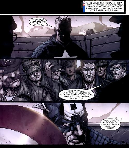 Captain America inspires