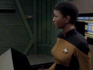 Dr. Jemison on Star Trek: The Next Generation