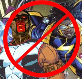 Mister Terrific? Static Shock? Cancelled!