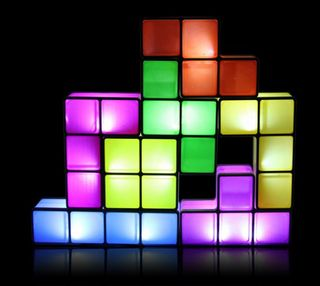 Tetrislamp