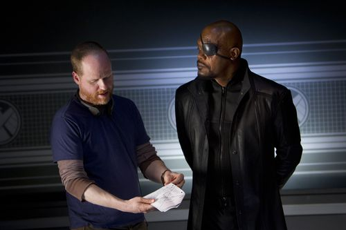 Joss Whedon, Samuel L. Jackson as Nick Fury