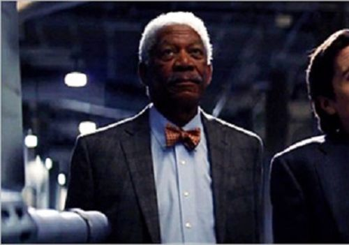 Movies: Lucius Fox Brings The Brains in New Trailer for The