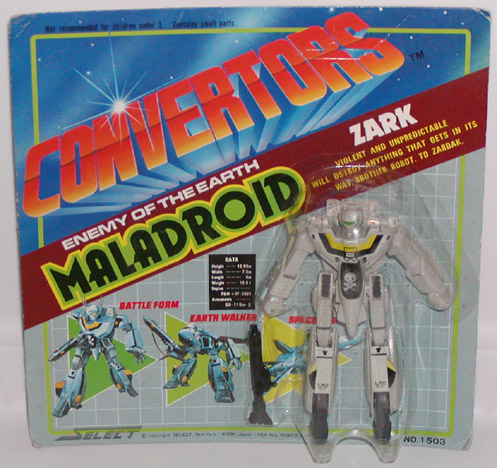 Converters Robotech Knock Off ... better than Liefeld?