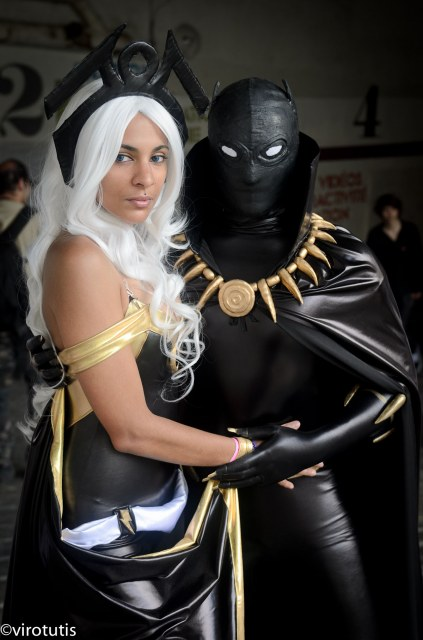 Storm and the Black Panther