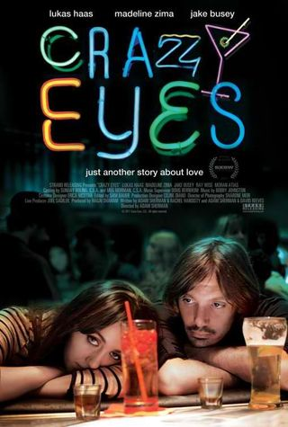 Crazy eyes movie poster lukas haas