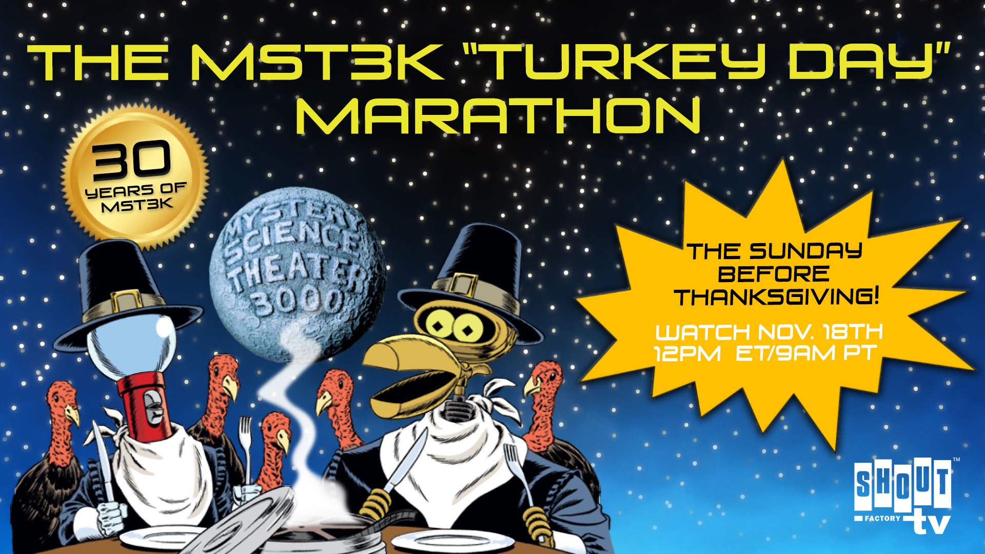 A Thanksgiving Turkey Called MAC AND ME - GeekWeek